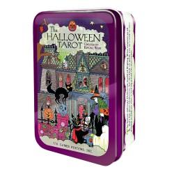 Halloween Tarot In A Tin (pocket-sized deck)