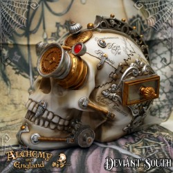 Alchemy Gothic V4 Erasmus Darwin's Steam-Cerebum resin ornament