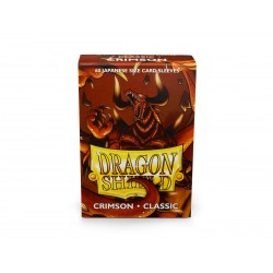 Dragon Shield Classic Japanese Size Card Sleeves (60) - Crimson