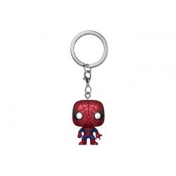 Funko Pocket Pop! Keychain: Marvel - Spider-Man Metallic vinyl figure