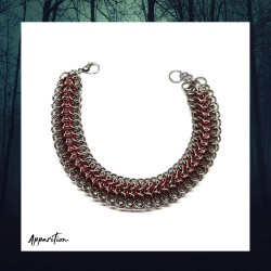 Apparition Fire Dragon Chainmaille Bracelet