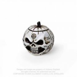 Alchemy Gothic VM10 Pumpkin Skull: Miniature resin ornament