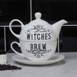 Alchemy Gothic ATS3 Witches Brew Hex 'Tea For One Set'