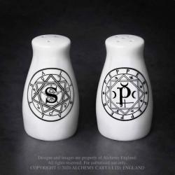 Alchemy Gothic MRSP1 S & P: Salt & Pepper Set