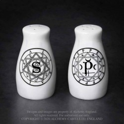 New Release! Alchemy Gothic MRSP1 S & P: Salt & Pepper Set