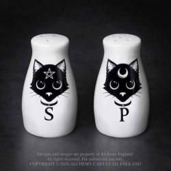 Alchemy Gothic MRSP3 Cats: Salt & Pepper Set
