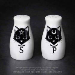 New Release! Alchemy Gothic MRSP3 Cats: Salt & Pepper Set