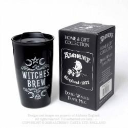 Alchemy Gothic MRDWM1 Witches Brew: Double Walled Mug