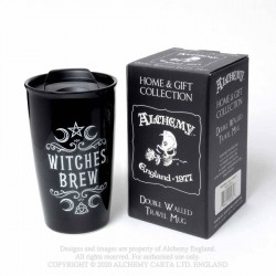 New Release! Alchemy Gothic MRDWM1 Witches Brew: Double Walled Mug