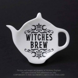New Release! Alchemy Gothic SR4 Witches Brew: Tea Spoon Holder/Rest