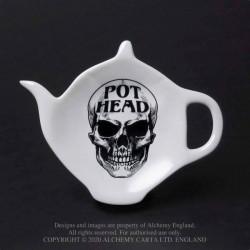 New Release! Alchemy Gothic SR6 Pot Head: Tea Spoon Holder/Rest