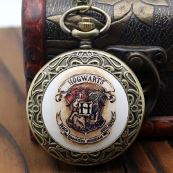 [On Demand] Harry Potter Slytherin House Badge Bronze Fob Pocket Watch