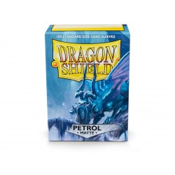 Dragon Shield Matte Standard Size Card Sleeves - Petrol (100)