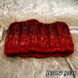 MHM Chunky Red Ribbed Headband