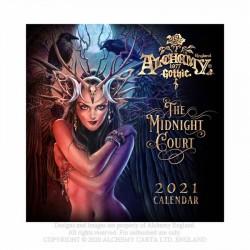 Alchemy Gothic CAL21 'The Midnight Court' Wall Calendar