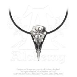 Alchemy Gothic P687 Helm of Awe Ravenskull