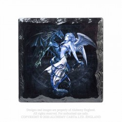 New Release! Alchemy Gothic CC11 Chemical Wedding Individual Ceramic Coaster