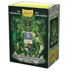 Dragon Shield Classic Art Sleeves - King Mothar Vangard: Coat-of-Arms (100)