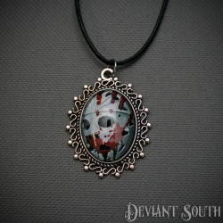 Deviant South Cabochon Necklace - Jason Voorhees Friday the 13th