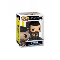 New! Funko Pop! Cyberpunk 2077 - V-Male