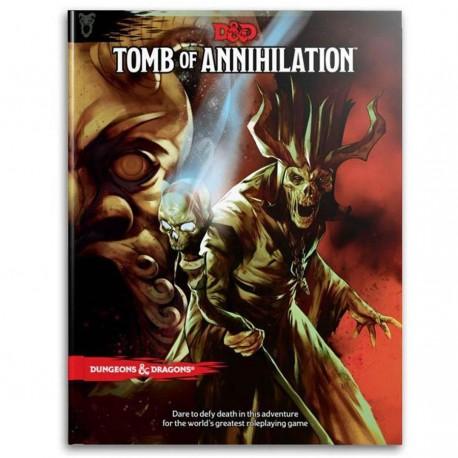 D&D Tomb of Annihilation Book