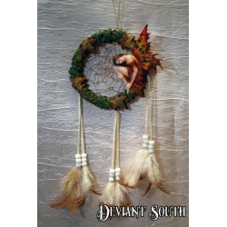 Autumn Fairy Dream Catcher