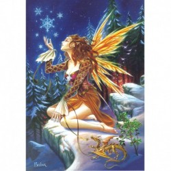 Yuletide 'Christmas' Wiccan Pagan Greeting Card - Yule Fairy