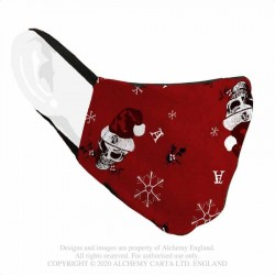 New Release! Alchemy Gothic AFC6 Red Creepmas Mask