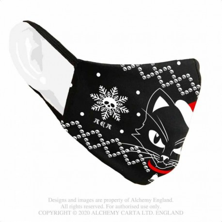 New Release! Alchemy Gothic AFC8 Black Cat Mask