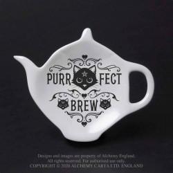 New Release! Alchemy Gothic SR7 Purrfect Brew: Spoon Rest