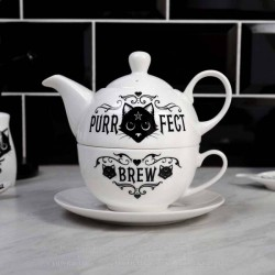 New Release! Alchemy Gothic ATS4 Purrfect Brew: Tea for One