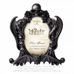"""New Releases! Alchemy Gothic V97 Nosferatu Photo Frame (4x6"""") - Black"""
