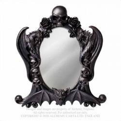 Alchemy Gothic V98 Nosferatu Mirror - Black