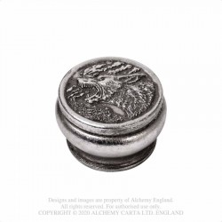 New Releases! Alchemy Gothic V103 Hour of the Wolf Box - Antique Silver
