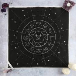 Black Magic 70x70cm Star Sign Altar Cloth
