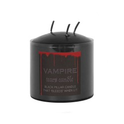 7.5cm Vampire Tears Pillar Candle - Single