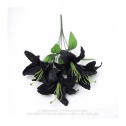 Alchemy Gothic FLO02 Black Lily Bunch