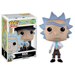 Funko Pop! Animation: Rick and Morty - 112 Rick vinyl figure