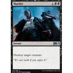MTG Single - Core Set 2019 - Murder
