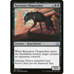 MTG Single - Rivals of Ixalan - Ravenous Chupacabra
