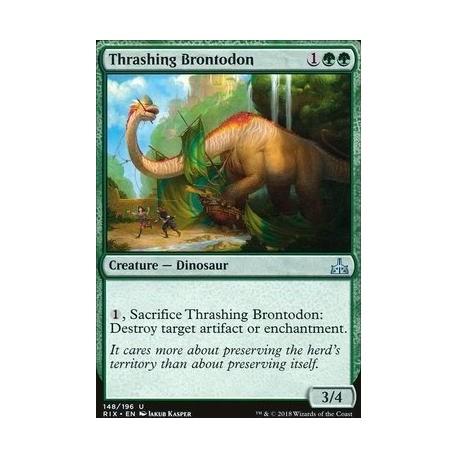 MTG Single - Rivals of Ixalan - Thrashing Brontodon