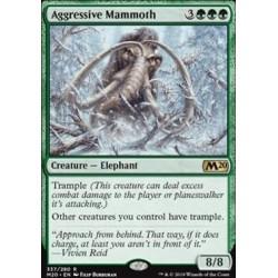 MTG Single - Core Set 2020 - Aggressive Mammoth