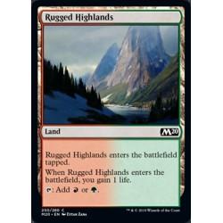 MTG Single - Core Set 2020 - Rugged Highlands