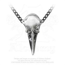 Alchemy Gothic P752 Rabeschadel Kleine necklace