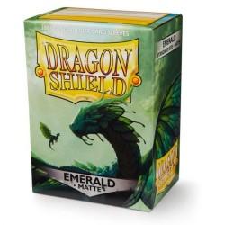 Dragon Shield Matte Standard Sleeves - Emerald (100)