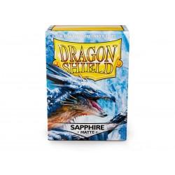 Dragon Shield Matte Standard Sleeves - Sapphire (100)