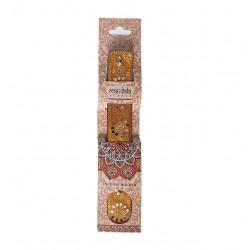Karma Pink Incense Holder - Bronze