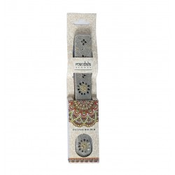 Karma Pink Incense Holder - Silver