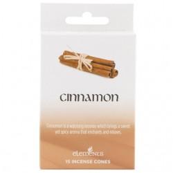 Elements Incense Cones - Cinnamon (15 cones)